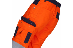 KANDELA 3/4 Trousers with reflective tapes