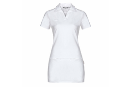 TAMARA WHITE Women´s Long Shirt with short sleeve