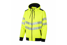Hi-Vis zipped Jacket with hood 4809999065